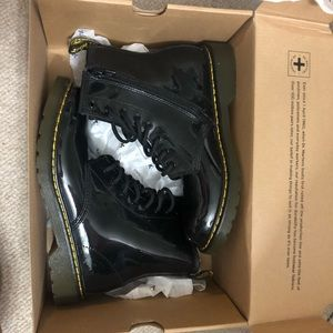Black kids/women's doc martens